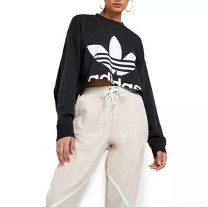 NEW Adidas Originals Cut Out Sweater Size XS